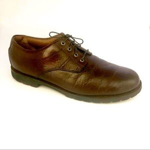 H. S. Trask 100% Genuine Leather Brown Oxfords
